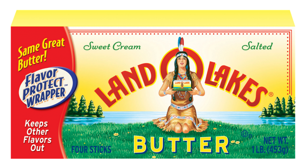 Land O'Lakes Removes Native American Art from Packaging